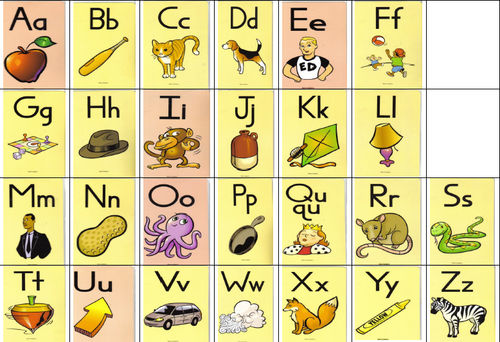 Gorgeous image in fundations sound cards printable