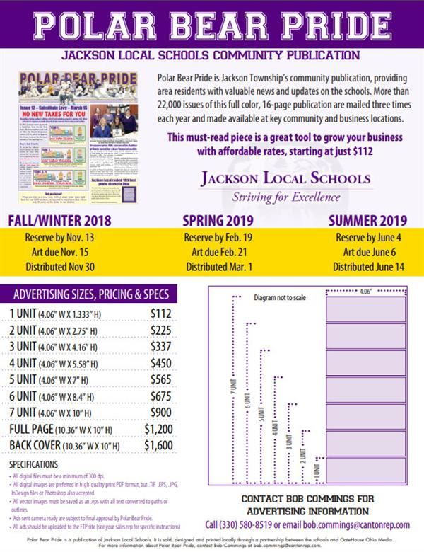 Advertise in Polar Bear Pride