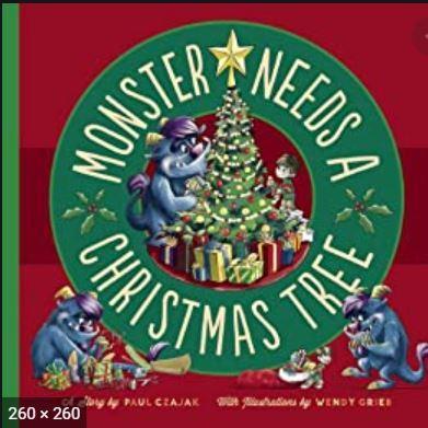 Monster Needs a Christmas Tree