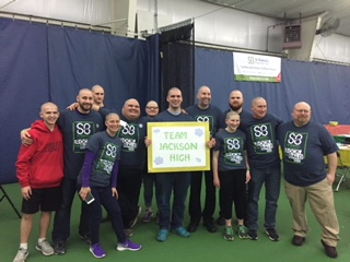St. Baldricks Team Photo