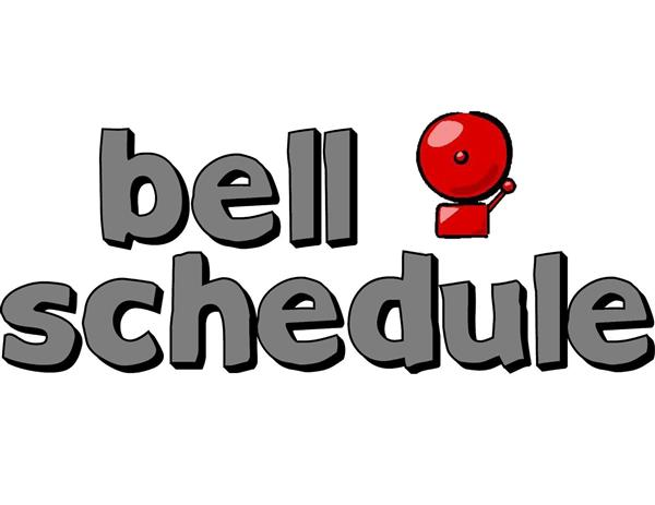 JHS Bell Schedules for the week of 8/19